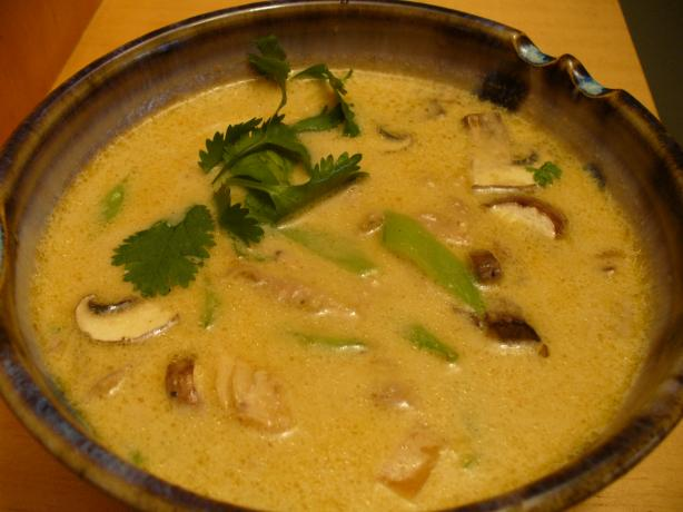 Asian Comfort Food (Coconut-Curry Chicken Noodle Soup)