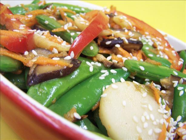 Chinese Sugar Snap Pea Salad