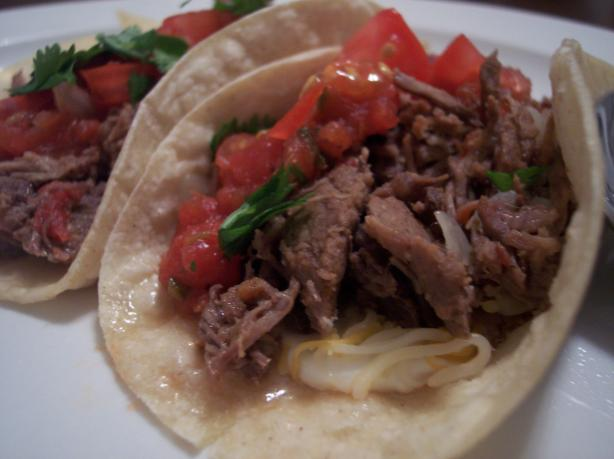 Shredded Marinated Flank Steak (Carne Desmechada)