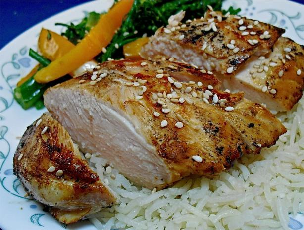 Grilled Teriyaki Chicken (Rachael Ray)