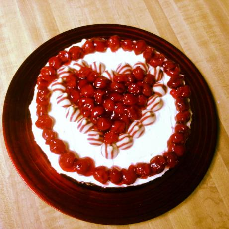 Hershey's Cherry Cordial Creme Cheesecake