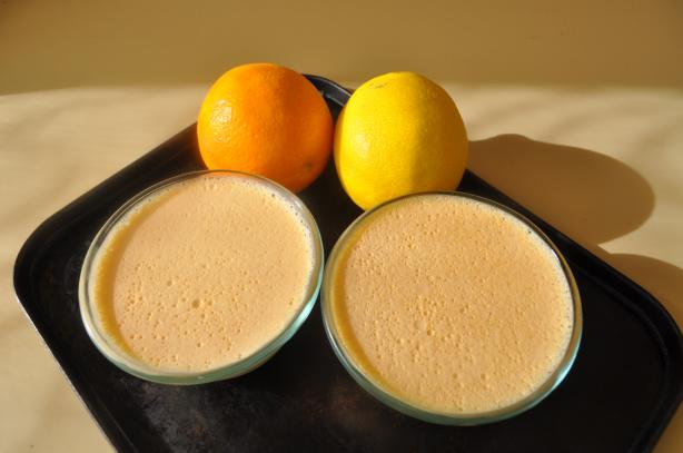 Orange Lemon Parfaits (Low Fat, Low Sugar)