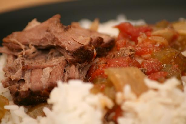 Cajun Pot Roast for the Crock Pot