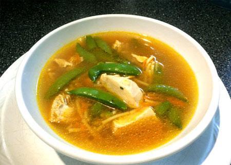 Ginger-Chicken Noodle Soup (Crock Pot)