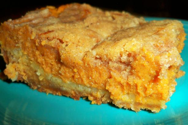 Quick and Easy Pumpkin Squares
