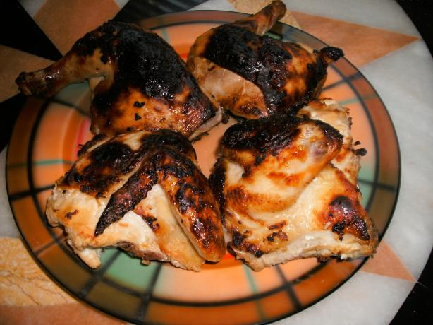 Rotisserie-Style Oven Baked Chicken