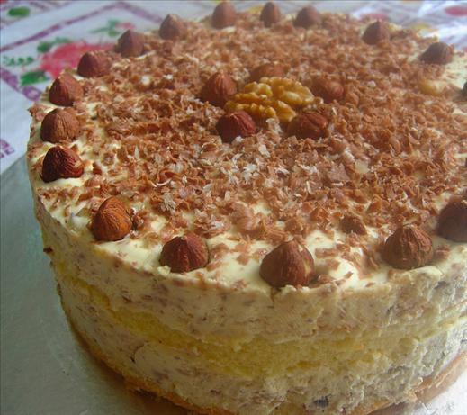 Hazelnut Layer Cheesecake