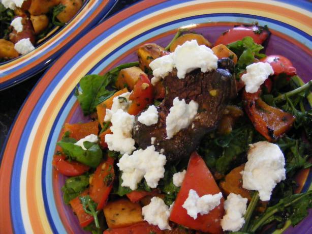 Warm Roasted Vegie Salad (21 Day Wonder Diet: Day 7)