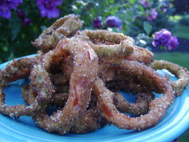 French-Fried Bell Pepper Rings