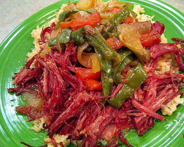 Corned Beef Brisket in Raspberry Vinaigrette (Crock Pot)