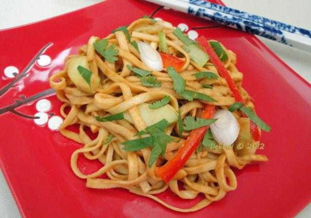 Peanut Noodle Salad (America's Test Kitchen)