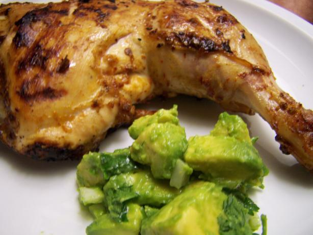 Chipotle Grilled Chicken With Avocado Salsa