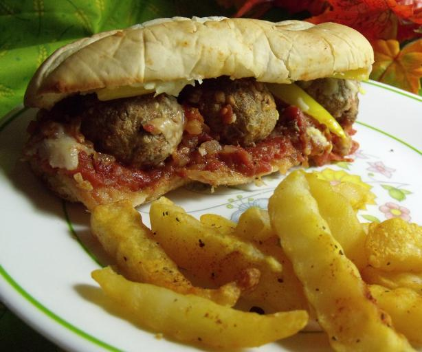 Hot or Not Hot Italian Meatball Sandwiches