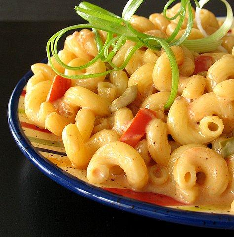 Low Fat Mexican Macaroni and Cheese