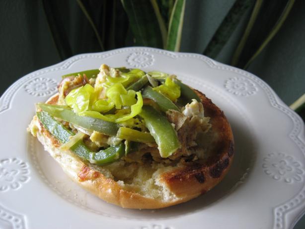 Italian Pepper and Egg Sandwich