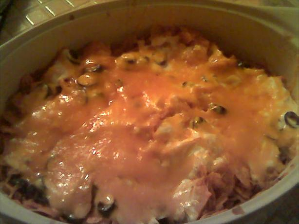 Leftover Chicken Tortilla Soup Casserole