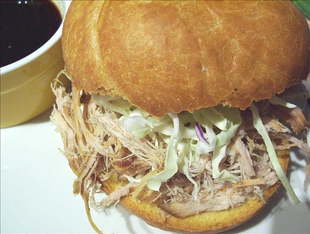 Oriental Pork Sandwiches