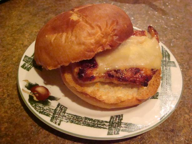 Roasted Chicken Sandwich With Rosemary and Honey Mustard Glaze