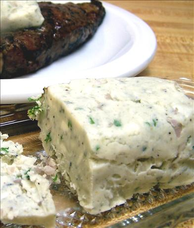 Blue Cheese-Shallot Butter