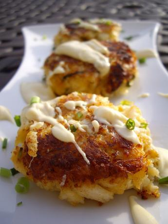 Spicy Crab Cakes With Key Lime Mustard Sauce
