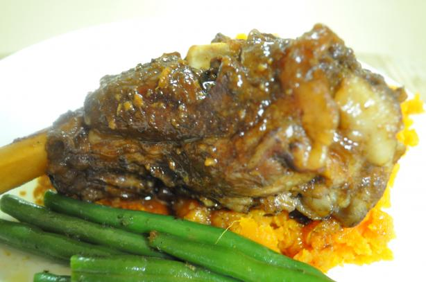 Five Spice Lamb Shank With Tamarind and Ginger