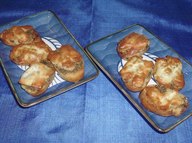 Garlic Herb Butter Crostini