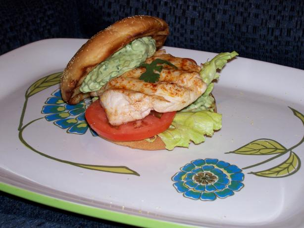 Summer Grilled Chicken Breast Sandwich With Avocado Cilantro May