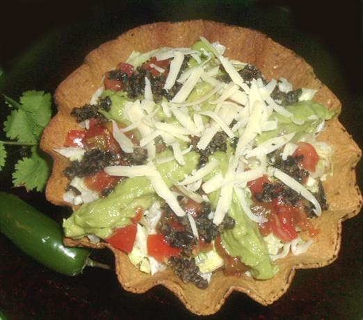 Chicken & Black Bean Tostados