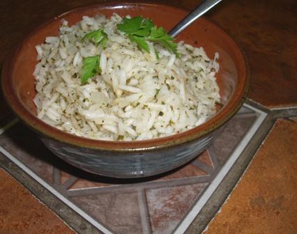 Mexican Green Rice (Vegan)