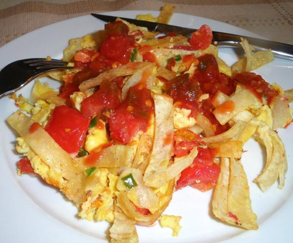 Mexican Scrambled Eggs