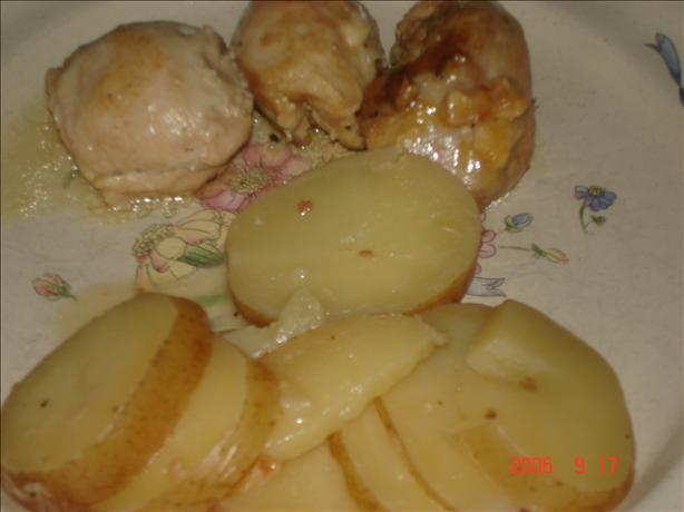 Crock Pot Chicken and Potatoes