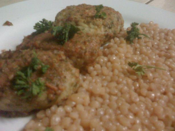 Fish Balls in Tomato-Basil Sauce