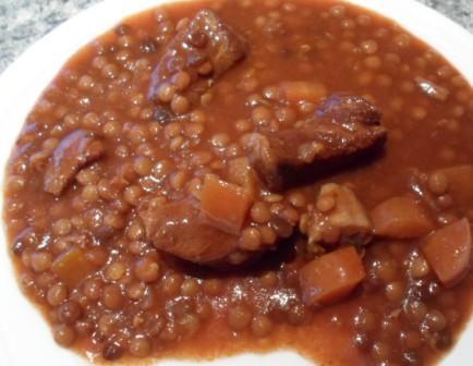 Beef Casserole With Tomato & Balsamic Vinegar