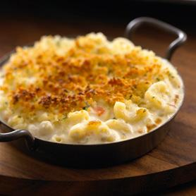 "All Natural Alouette Savory Vegetable Baked ""mac & Cheese"""