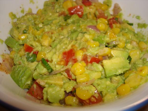 Roasted Corn & Avocado Dip