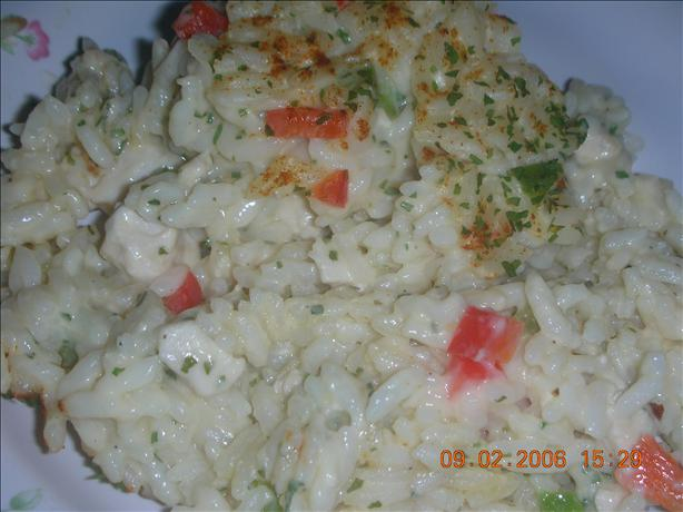 Easy Chicken Pilaf Casserole