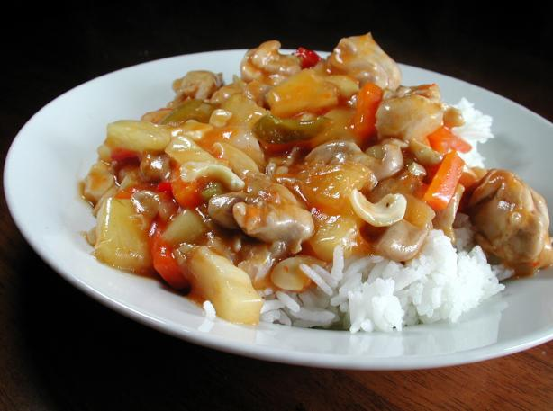 Dutch Oven Cashew Chicken