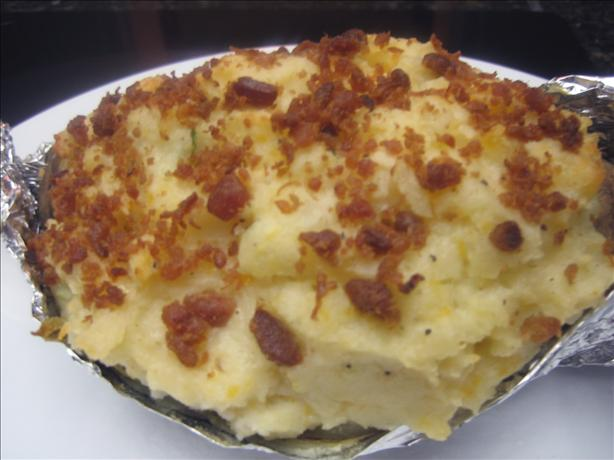 Bacon, Cheddar, Sour Cream and Chive, Twice Baked Potatoes