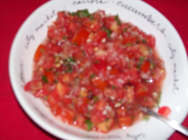 Tomato Salsa (Salsa Cruda)