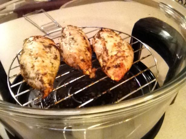 Grilled or Broiled Lemon Thyme Chicken Breasts