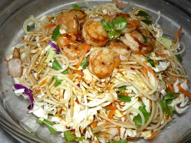 Plaza San Antonio's Spicy Oriental Noodle Salad