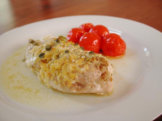 Chicken With Mascarpone, Capers & Lemon