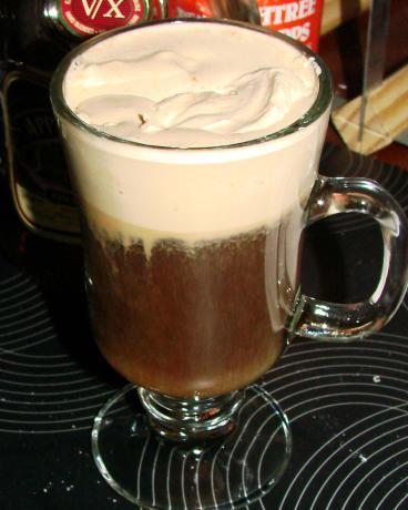 Chocolate Rum Espresso Whipped Cream