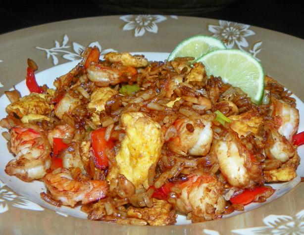 Fried Rice With Prawn & Egg