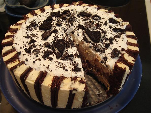 "Layered Ice Cream "" Cake"""