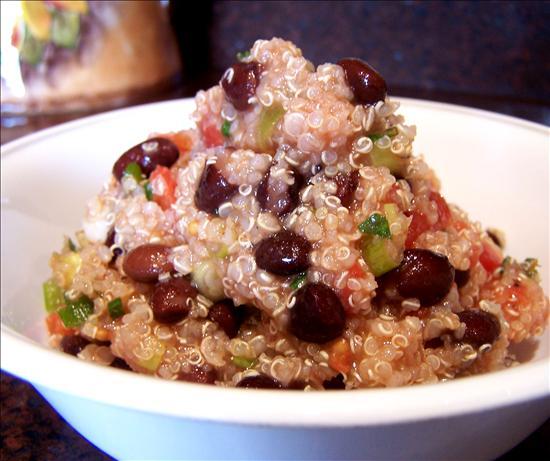 Black-Bean & Tomato Quinoa
