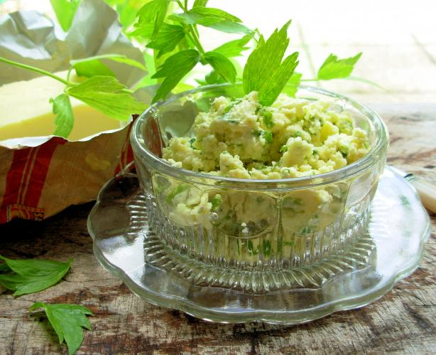 Lovage Butter
