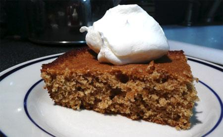 Diabetic Orange Nut Cake