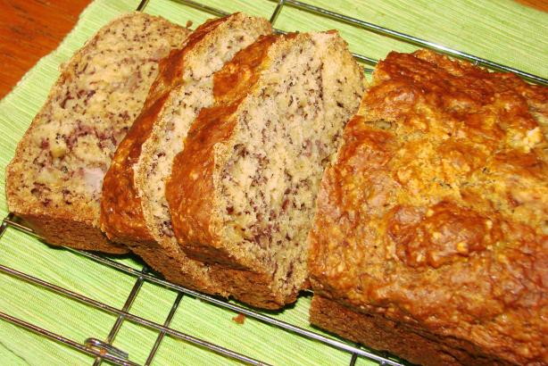 Low-Fat Full-Flavor Banana Bread