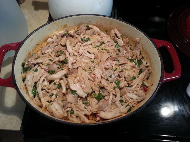 Latino-Style Chicken and Rice Aka Arroz Con Pollo